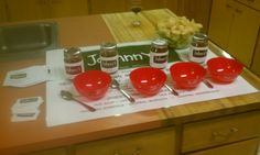 1st year @ Girls Night Out ...Johnny's Salsa Tasting event...