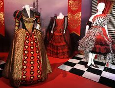 Costumes from Tim Burton's Alice in Wonderland