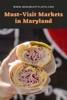 Looking for good eats in Maryland? Check out Sensible Stylista to read about two must-visit markets in Bethesda, Maryland. #marylandfood #maryland #foodgoals #sandwiches #marylandrestaurants #bethesdamaryland #bethesdafood
