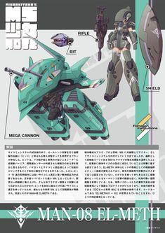 Mobile Suit, Character Design Inspiration, Gundam, Robots, Highlight, Drawings, Robot