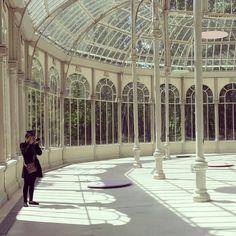 Palacio de cristal, Madrid España