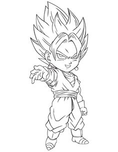 Dragon Ball Z Wear Earring God Coloring Pages For Kids Printable