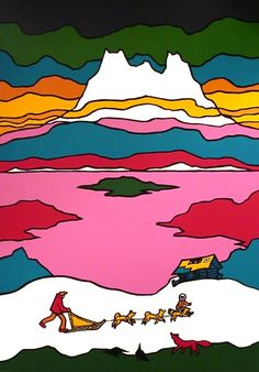 Lake of Silence by Ted Harrison
