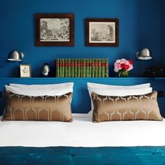 From cool coral to bold blue, be brave with colour when it comes to your walls