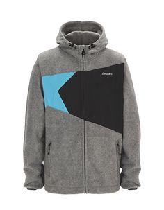 ICE | Men's Fleece | Fall / Winter Collection 2012 / 2013 | www.zimtstern.com | #zimtstern #fall #winter #collection #mens #jacket #fleece #street #wear #streetwear #clothing #apparel #fabric #textile #snow #skate