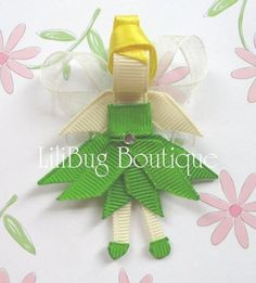 Tinkerbell.. So making these for a bow!!!!