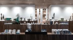 The New Cycladic Art Museum Shop & Café in Athens, Greece by Kois Associated Architects | Yatzer