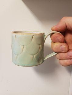 Coffe cup #erikkrouthén #ceramics #handmade #artscrafts #madeinnorway #stoneware #slabbuild #texture #art #coffeelove