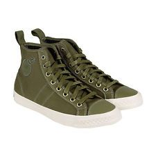 PF Flyers X THE Hundreds Rambler Mens Green Canvas High TOP Sneakers Shoes | eBay