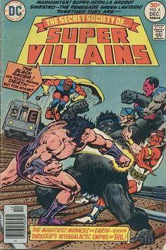 The Secret Society of Super Villains #4