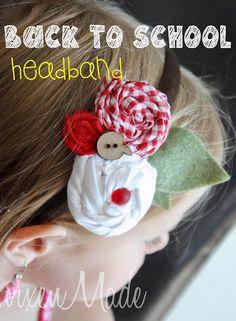 Back To School Headband
