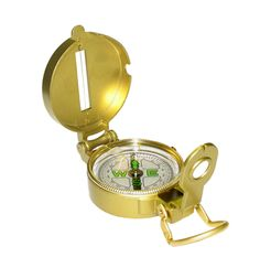 Compass with metal case. Summer camp gear at Everything Summer Camp.