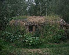 Rusland, wonen in de natuur.