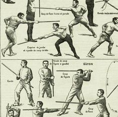 Cane fighting poster 1922 Vintage sports print Vintage fencing poster Cane fighting poster Stick fighting poster French dictionary page Stick Fight, Best Self Defense, Art Of Manliness, Sword Fight, Fight Club, Survival Skills, Survival Life, Karate, Martial Arts
