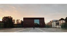 Narodowe Forum Muzyki we Wrocławiu #nfm #wroclaw #wrocław #wroclove #sunset #sky #architecture #building #square #vsco #shotoniphone