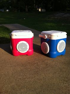Stereo Cooler - 12 Qt. Igloo Ice Cube on Etsy, $150.00