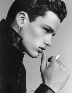Simon Nessman by Alasdair McLellan for Vogue Hommes International