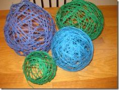 sugar string balls