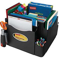 Staples The Desk Apprentice™ Rotating Desk Organizer - what every teacher needs.
