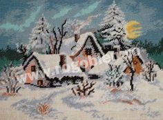 The Winsome House Winter Wonderland Sleigh Ride LED Wall Art is illuminated by seven LED lights that are powered by a pair of AA batteries (not included). Winter Night, Christmas Cross, Winter Scenes, Merry And Bright, Christmas Themes, Winter Wonderland, Canvas Prints, Wall Art, Drawings