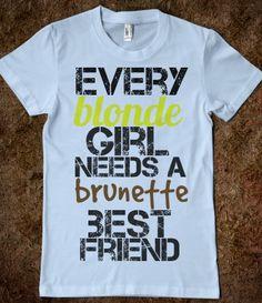 Best Friends Blonde Brunette @Diana Dupuis
