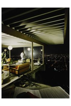 Julius Shulman, Selected Images of Case Study House #22, Los Angeles (Stahl House by Pierre Koenig), 1960 c