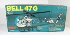 GRAUPNER 4601 BELL 47G RC HELICOPTER WITH HB25H ENGINE | Toys & Hobbies, Radio Control & Control Line, RC Model Vehicles & Kits | eBay!