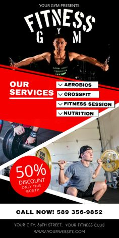 Fitness Gym Rollup Banners Pinner Seo Name S Collection Of 40 Rollup Banner Ideas In 2020