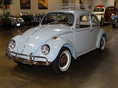 I want to own and drive a vintage volks wagen just like this one. Reminds me of my maternal grandmother, she had one she drove us around in.