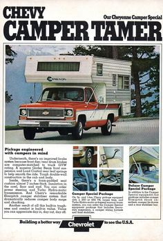 Gmc Pickup Trucks, Pickup Camper, Gm Trucks, Truck Camper, Chevrolet Usa, Chevrolet Trucks, Vintage Chevy Trucks, Classic Chevy Trucks, Car Brands Logos