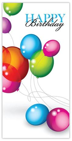 Balloons of Fun - CardsDirect Happy Birthday Cards Happy Birthday Greetings Friends, Happy Birthday Celebration, Happy Birthday Wishes Cards, Happy Birthday Pictures, Birthday Blessings, Happy Birthday Quotes, Happy Birthdays, Happy Birthday Ballons, Birthday Fun