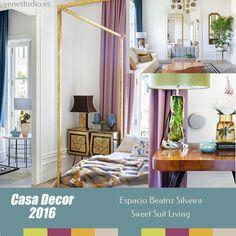 Dormitorio Casa Decor 2016 Beatriz Silveira - #casadecor2016 #tendenciadecoraciondormitorios #tendenciadecoracionhabitaciones #interiordesign #novedadesdecoracion2016 #tendenciadecoracion2016