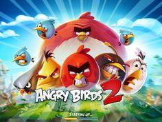 Angry Birds 2 | Splash | UI, HUD, User Interface, Game Art, GUI, iOS, Apps, Games, Graphic Desgin, Puzzle Game, Rovio Entertainment | www.girlvsgui.com
