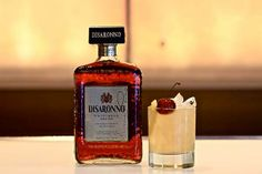 Toast to National Amaretto Day! Try this sweet, almond-flavored Italian liqueur in the Disaronno Sour. http://ow.ly/vU7zo   2 parts Disaronno®  1 part fresh lemon juice  ¼ part simple syrup  Shake ingredients and strain over ice in a glass.