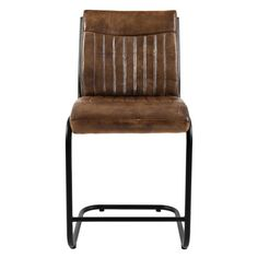 Jofran Aviator Genuine Leather 24 in. Counter Stool