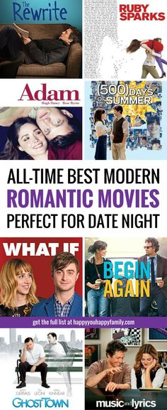 Looking for the BEST romantic comedies for date night? These \