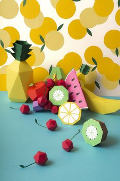 paper fruits templates from Mr Printables http://www.mrprintables.com/play-fruit-templates.html