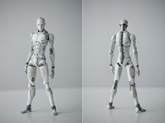 Synthetic Human on toa-1000toys.com