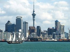 Auckland city Skyline, New Zealand by Benoit Demers on 500px