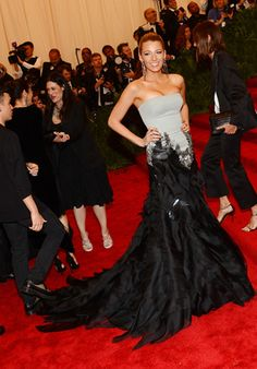 Blake Lively - Met Costume Institute Gala 2013