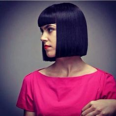 「celebrity one length haircuts」的圖片搜尋結果 One Length Haircuts, One Length Bobs, Cute Short Haircuts, Haircuts With Bangs, Short Bob Hairstyles, Above Shoulder Length Hair, Short Hair Cuts, Short Hair Styles, Shoulder Haircut