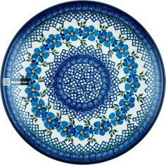 Bunzlau Castle®   Decoren Polish Pottery, Pansies, Pots, Castle, Hand Painted, Tableware, Painting, Decor, Porcelain