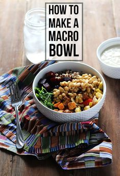 How to Make a Macro Bowl | Dietitian Debbie Dishes