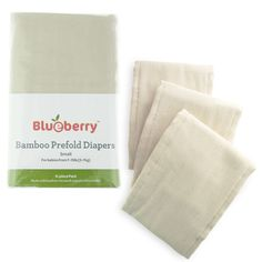 LC Pals - Blueberry Bamboo Prefold Diapers, $25.95 (http://www.lcpals.com/blueberry-bamboo-prefold-diapers/)