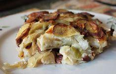 En klassiker i sommertøj: kartoffellasagne med spidskål – Dalsgaard i Skivholme