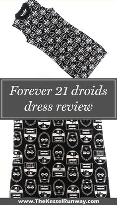 Forever 21 droids dress review - The Kessel Runway