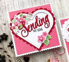 Hello!  I hope you're having a relaxing weekend.  I'm popping in today to share a few Valentine cards I made the other day using some P...