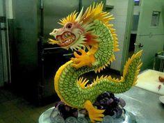 (93) Sculpture culinaire ! Scultura culinaria ! 料理の彫刻