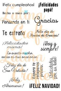 Frases para toda ocasión - Latina Crafter
