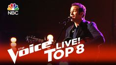 "The Voice 2015 Joshua Davis - Top 8: ""Fields of Gold"""